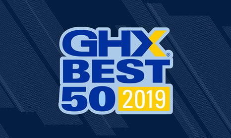 "GHX Recognizes North America's ""Best 50"" Healthcare Providers for Supply Chain Excellence"